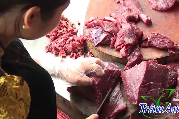 Thái thịt trâu